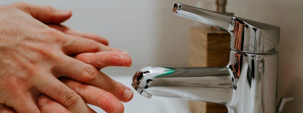 Zwanzig Sekunden Hände waschen - eine der wichtigsten Vorsichtsmassnahmen!
