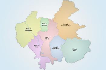 Kirchgemeinden des Stadtverbands